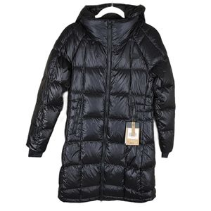 The North Face Black Down Puffer Acropolis Parka